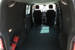VW TRANSPORTER T5T6 KOMBI REAR CARPETSUEDE LINING 4