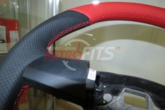 Custom Leather Steering Wheel For Volkswagen T5 (13)