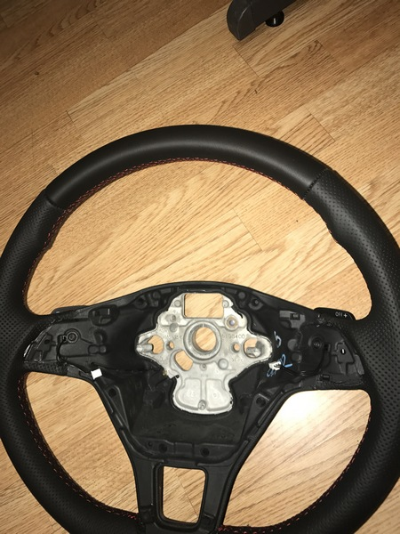 vw t6 flat bottom dsg steering wheel (4)