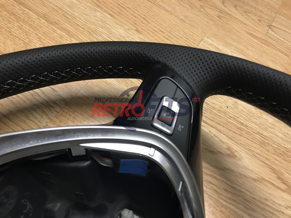vw t6 flatt bottom steering wheel
