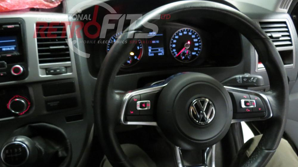 MK7 Golf Flat Bottom Multi function Steering Wheel