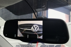vw t6 lcd rear view camera mirror