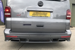 vw transporter-t5.1-reverse camera-back view