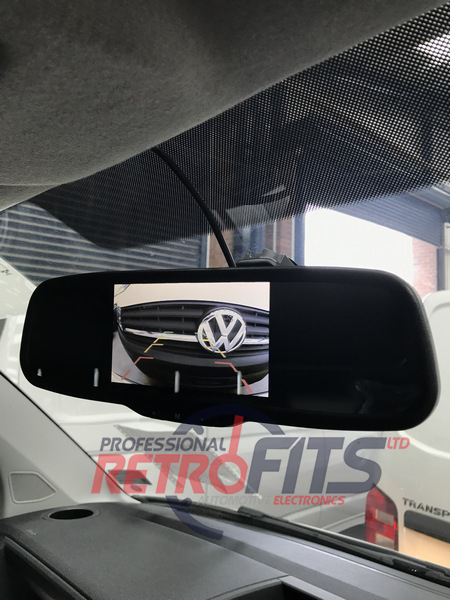 Aftermarket Rear View Camera Volkswagen Transporter T5 and T6