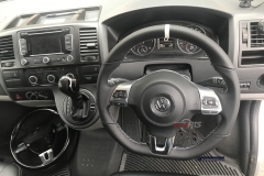 vw-t5.1-flat bottom-mk6 multifunction-steering wheel