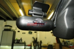 road angle halo fitted dash cam front
