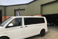 vw t5 t6 windows fitted hh mm fds