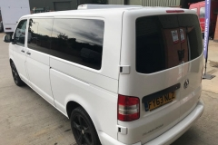 vw t5 t6 windows fitted hh mm jhj