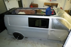 vw t5 skyline roof fitted 2