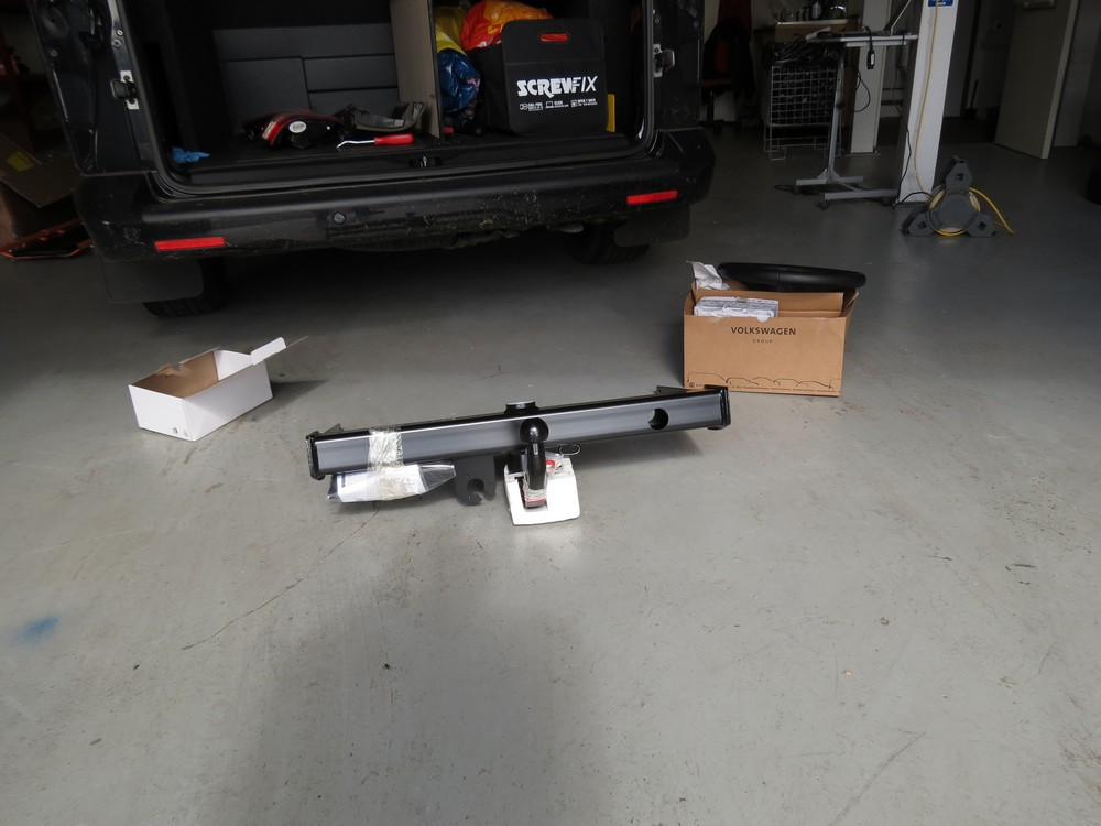 Westfalia Detachable Tow bar for VW T5