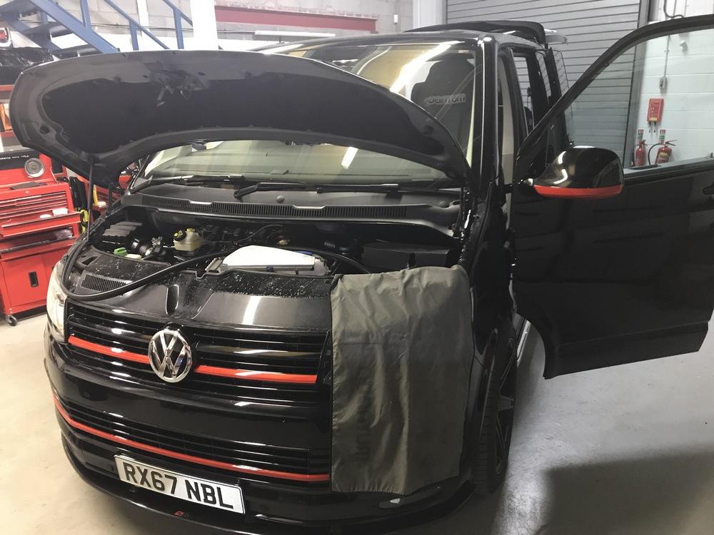 Westfalia Detachable Tow bar for VW T5