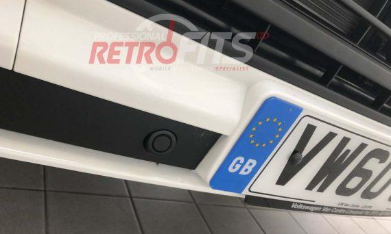 VW T6 Front Parking Sensors Retrofit