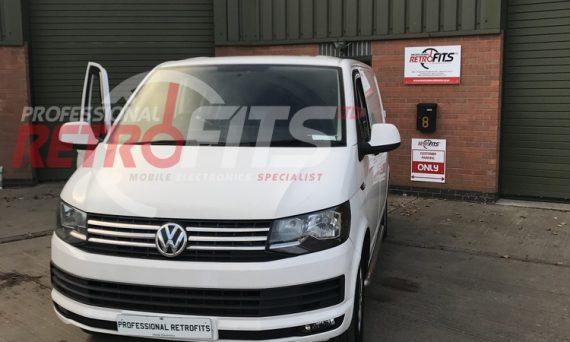 VW T6 Fog Lights, OEM Cruise Control and leather multifunction steering wheel retrofit