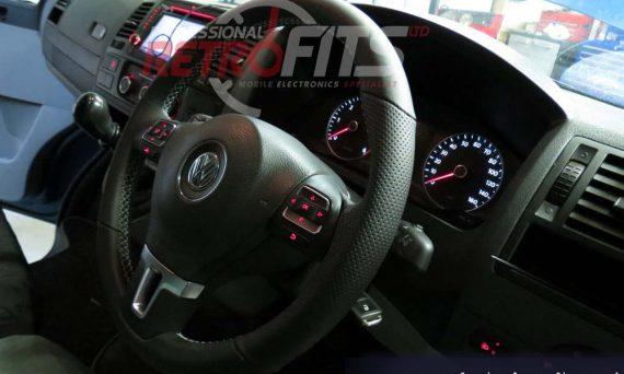vw-transporter-T5.1-custom-leather-multifunction-steering-wheel