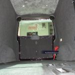 vw t5- carpet lining-front to back view