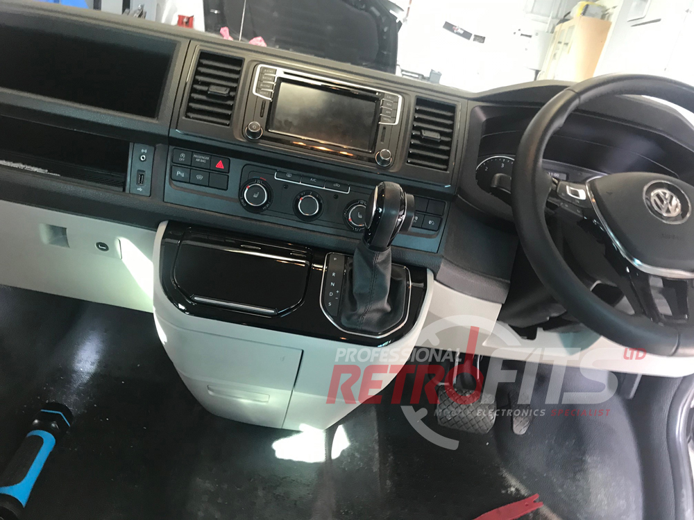 VW Transporter T6 Comfort Dash Upgrade