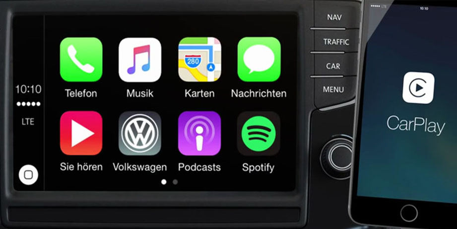 vw t6 apple car play activation svm