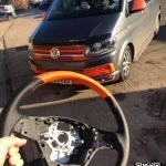 Recovered Orange Steering wheel for VW T6