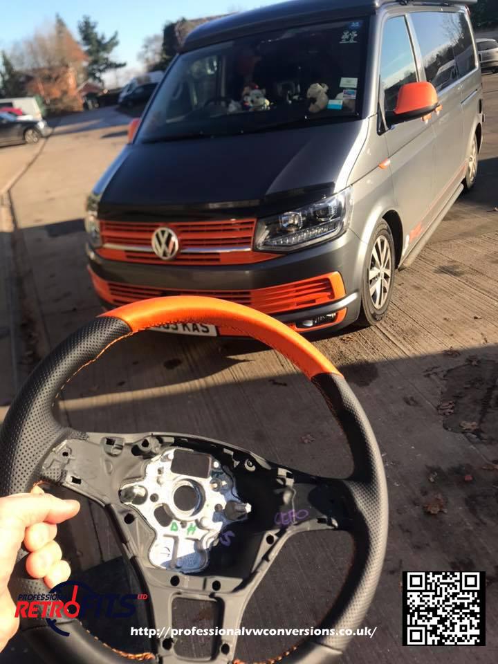 VW Transporter t6 LEFT HAND DRIVE Caoutchouc Cab Mat De