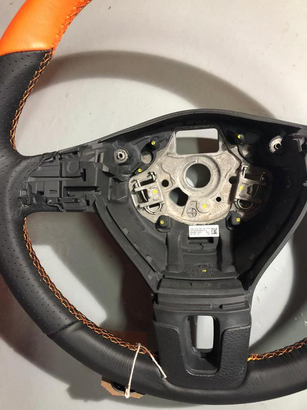 vw t5 orange steering wheel