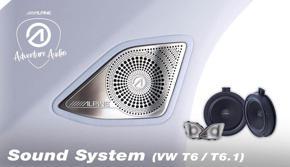 16,5 cm Component Speaker System for Volkswagen T6.1