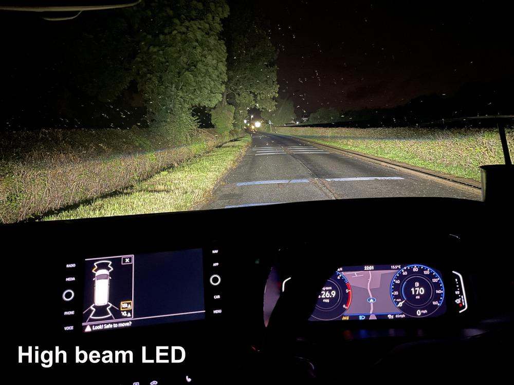 High beam LED VW T6.1