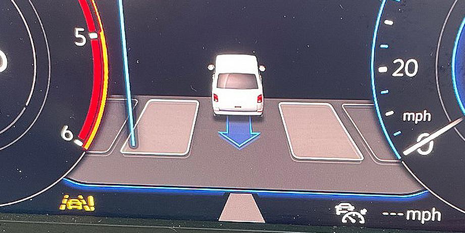 Park Assist PLA Retrofit VW T6.1